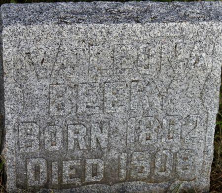 BEERY, IVA LEONA - Page County, Iowa   IVA LEONA BEERY