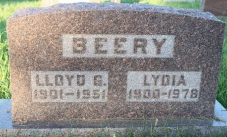 BEERY, LYDIA - Page County, Iowa | LYDIA BEERY