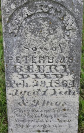 BEERY, MARTIN - Page County, Iowa | MARTIN BEERY