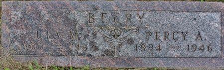 BEERY, ULA M - Page County, Iowa | ULA M BEERY