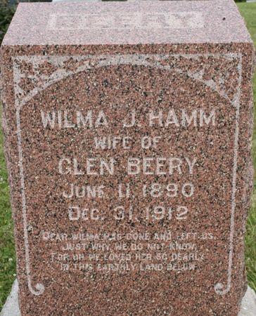 BEERY, WILMA J - Page County, Iowa | WILMA J BEERY