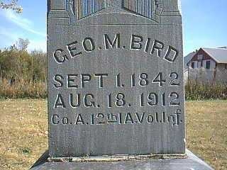 BIRD, GEO M. - Page County, Iowa | GEO M. BIRD