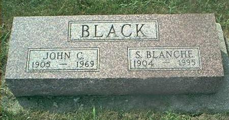 BLACK, S BLANCHE - Page County, Iowa | S BLANCHE BLACK