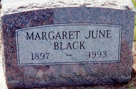 BLACK, MARGARET JUNE - Page County, Iowa | MARGARET JUNE BLACK