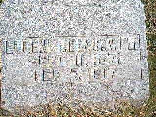 BLACKWELL, EUGENE E. - Page County, Iowa | EUGENE E. BLACKWELL