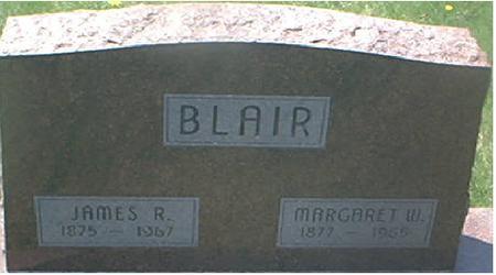 BLAIR, JAMES R. - Page County, Iowa   JAMES R. BLAIR