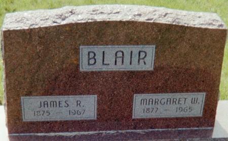 BLAIR, MARGARET W. - Page County, Iowa | MARGARET W. BLAIR