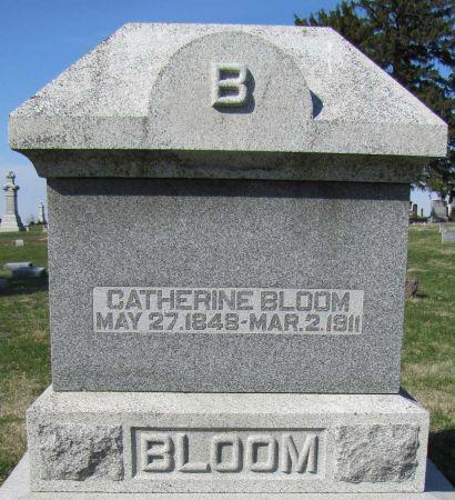 KLOTZ BLOOM, CATHERINE - Page County, Iowa   CATHERINE KLOTZ BLOOM