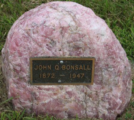 BONSALL, JOHN Q - Page County, Iowa   JOHN Q BONSALL