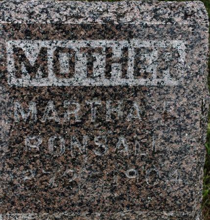 WOODRUFF BONSALL, MARTHA - Page County, Iowa | MARTHA WOODRUFF BONSALL