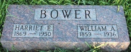 BATES BOWER, HARRIET ELLEN - Page County, Iowa | HARRIET ELLEN BATES BOWER