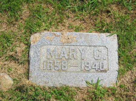 BRAMBLE, MARY C - Page County, Iowa   MARY C BRAMBLE