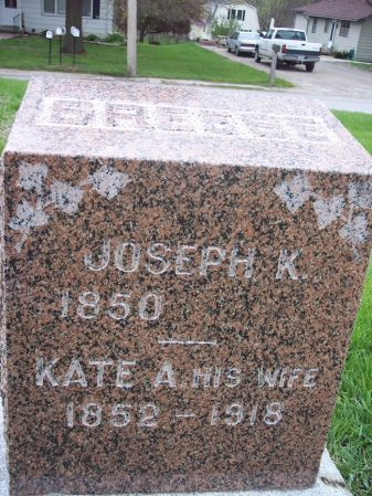 BREESE, KATE A. - Page County, Iowa | KATE A. BREESE