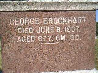 BROCKHART, GEORGE - Page County, Iowa | GEORGE BROCKHART