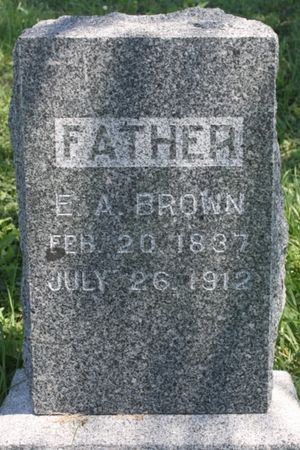 BROWN, ETSON ANSEL - Page County, Iowa | ETSON ANSEL BROWN