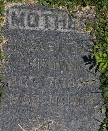 LONG BROWN, ELIZABETH - Page County, Iowa | ELIZABETH LONG BROWN