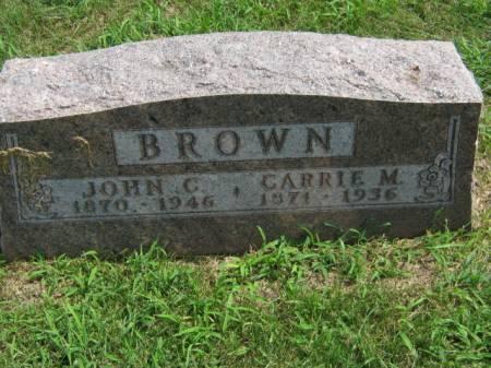 BROWN, JOHN C - Page County, Iowa | JOHN C BROWN