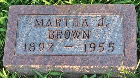 BROWN, MARTHA JANE