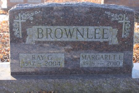 BROWNLEE, MARGARET E - Page County, Iowa | MARGARET E BROWNLEE
