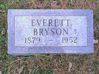 BRYSON, EVERETT - Page County, Iowa | EVERETT BRYSON