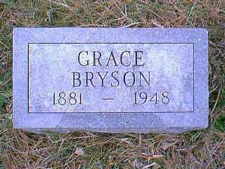 BRYSON, GRACE - Page County, Iowa | GRACE BRYSON