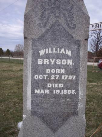 BRYSON, WILLIAM - Page County, Iowa   WILLIAM BRYSON
