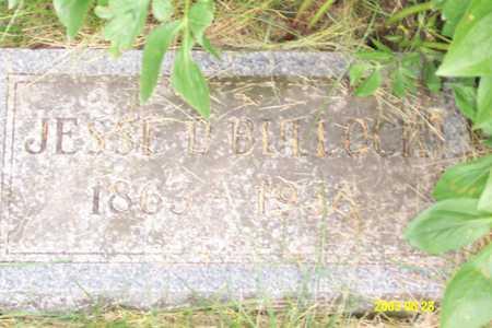 BULLOCK, JESSE D. - Page County, Iowa   JESSE D. BULLOCK