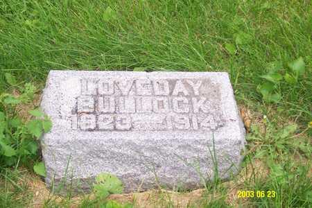 BULLEN BULLOCK, LOVEDAY - Page County, Iowa   LOVEDAY BULLEN BULLOCK