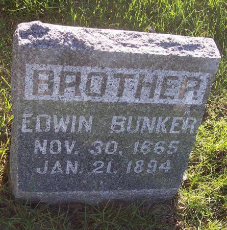 BUNKER, EDWIN - Page County, Iowa | EDWIN BUNKER