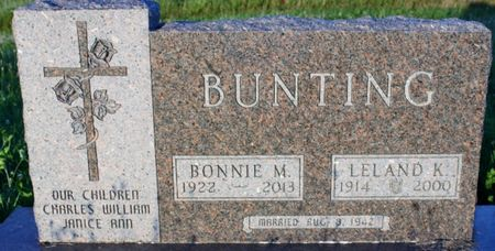 BUNTING, BONNIE M - Page County, Iowa | BONNIE M BUNTING