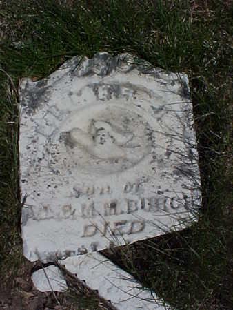BURCH, ELMER - Page County, Iowa | ELMER BURCH