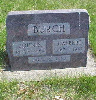 BURCH, J. ALBERT - Page County, Iowa | J. ALBERT BURCH