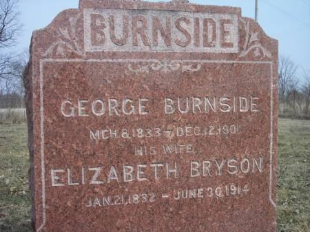 BRYSON BURNSIDE, ELIZABETH - Page County, Iowa | ELIZABETH BRYSON BURNSIDE