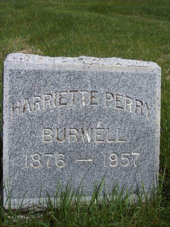 PERRY BURWELL, HARRIETTE - Page County, Iowa | HARRIETTE PERRY BURWELL