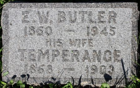HEIDELBAUGH BUTLER, TEMPERANCE - Page County, Iowa | TEMPERANCE HEIDELBAUGH BUTLER