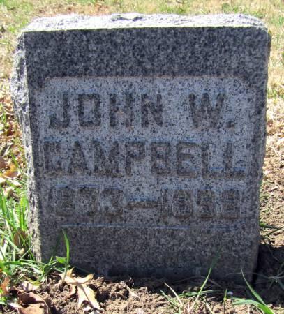 CAMPBELL, JOHN W - Page County, Iowa | JOHN W CAMPBELL