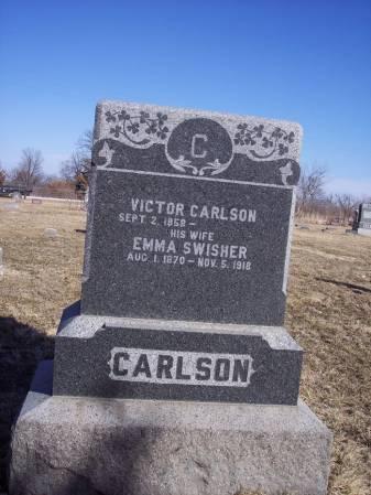 CARLSON, EMMA - Page County, Iowa   EMMA CARLSON
