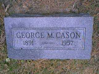 CASON, GEORGE M. - Page County, Iowa | GEORGE M. CASON