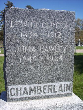 CHAMBERLAIN, DEWITT CLINTON - Page County, Iowa | DEWITT CLINTON CHAMBERLAIN