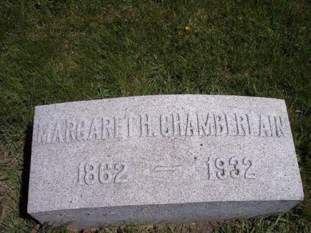 CHAMBERLAIN, MARGARET H. - Page County, Iowa   MARGARET H. CHAMBERLAIN