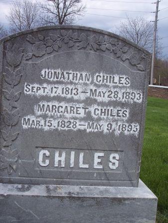 CHILES, JONATHAN - Page County, Iowa   JONATHAN CHILES
