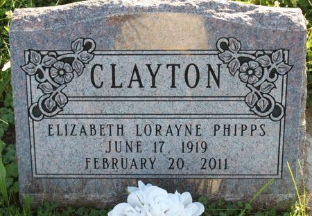 CLAYTON, ELIZABETH LORAYNE - Page County, Iowa | ELIZABETH LORAYNE CLAYTON