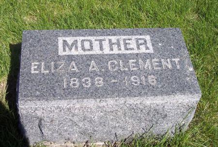 CLEMENT, ELIZA A. - Page County, Iowa | ELIZA A. CLEMENT