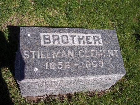 CLEMENT, STILLMAN - Page County, Iowa   STILLMAN CLEMENT