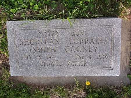 SMITH COONEY, SHURLEAN LORRAINE - Page County, Iowa | SHURLEAN LORRAINE SMITH COONEY