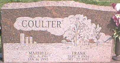 COULTER, FRANK - Page County, Iowa | FRANK COULTER