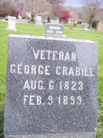 CRABILL, GEORGE - Page County, Iowa   GEORGE CRABILL