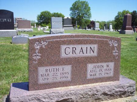 CRAIN, JOHN W. - Page County, Iowa | JOHN W. CRAIN