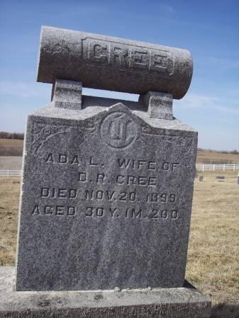 CREE, ADA L. - Page County, Iowa   ADA L. CREE