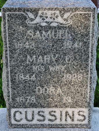 CUSSINS, SAMUEL - Page County, Iowa | SAMUEL CUSSINS